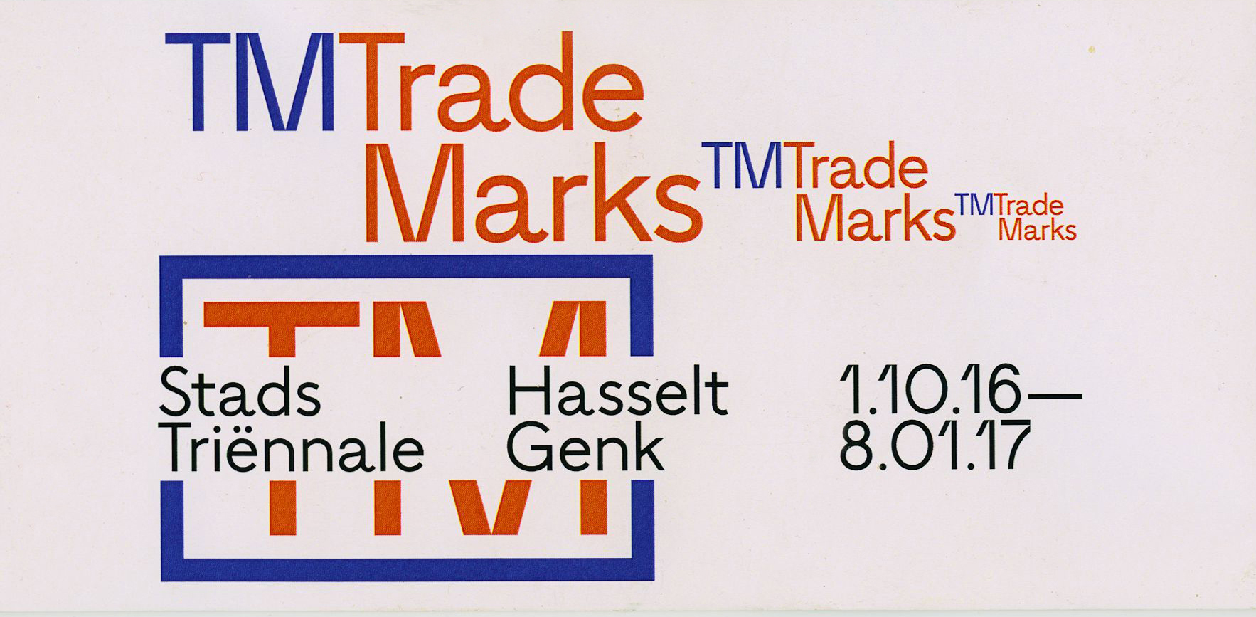 TM Trade Marks expo 2016 A
